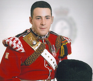 Drummer Lee Rigby, 25, from the 2nd Battalion, Royal Regiment of Fusiliers who was named today as the soldier hacked to death in Woolwich yesterday.