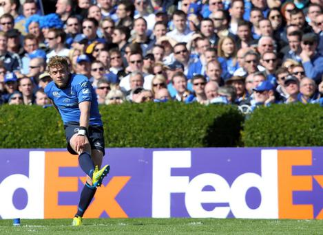 Ian Madigan has shown his versatility this season by also starring at centre for Leinster