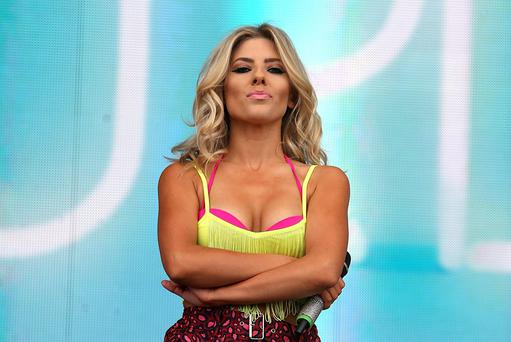 Mollie King of The Saturdays performs at Radio One's Big Weekend, at Ebrington Square in Londonderry. PRESS ASSOCIATION Photo. Picture date: Saturday May 25, 2013. Photo credit should read: Niall Carson/PA Wire