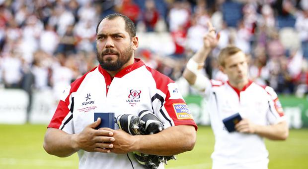Disappointment for Ulster's John Afoa as Leinster win the RaboDirect PRO12 Final at the RDS