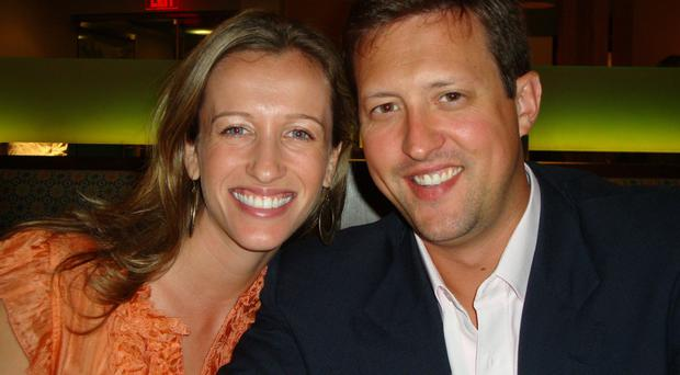 US activist Jessica Grouns and her partner Wes McClelland