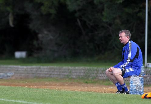 Michael O'Neill believes football in Northern Ireland has to change quickly