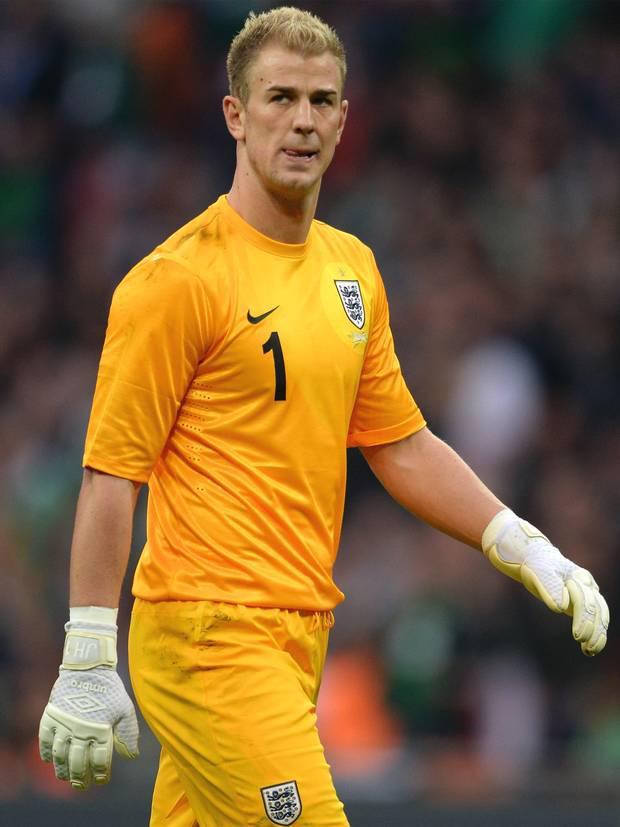 Joe Hart: Was as surprised as everyone by the quality of Shane Long's header. Otherwise a fairly comfortable first half. 5/10