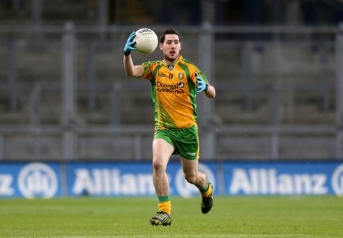 Mark McHugh helped to take Donegal over the line against Tyrone on Sunday