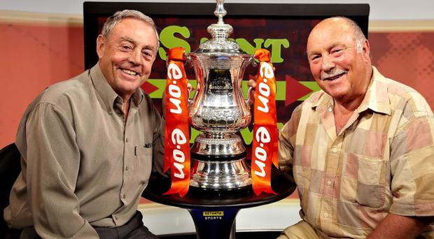 Ian St John (left) and Jimmy Greaves used to put a humourous slant on football every Saturday with their self-titled ITV show