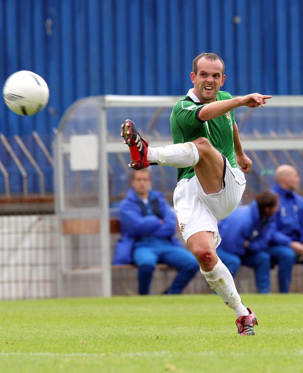 Northern Ireland player Stuart Elliott