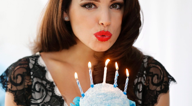 Kelly Brook at Victoria Square for the 5th birthday bash. Picture by Kelvin Boyes / Press Eye
