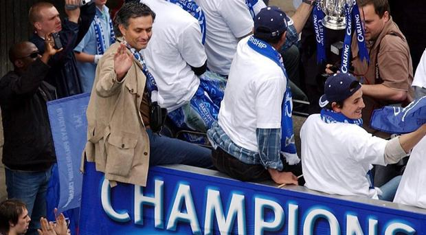 File photo dated 22/05/2005 of Jose Mourinho. PRESS ASSOCIATION Photo. Issue date: Monday June 3, 2013. Chelsea have confirmed Jose Mourinho as their new manager on a four-year contract. See PA story SOCCER Chelsea. Photo credit should read: Chris Young/PA Wire
