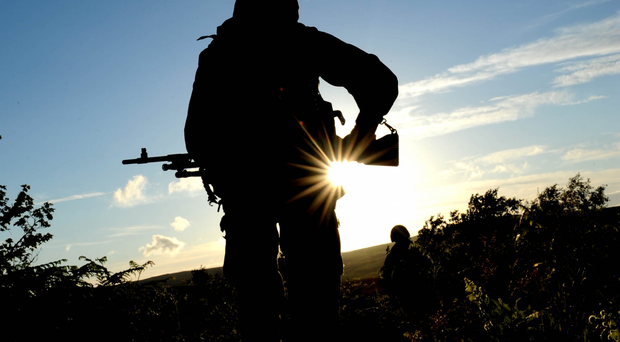 Two British soldiers have admitted abusing Afghan civilians.