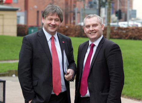 Former Ulster Unionists Basil McCrea and John McCallister
