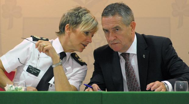 Terry Spence chairman of the Police Federation for Northern Ireland and Deputy Chief Constable Judith Gillespie pictured at the 41st Police Federation for Northern Ireland conference