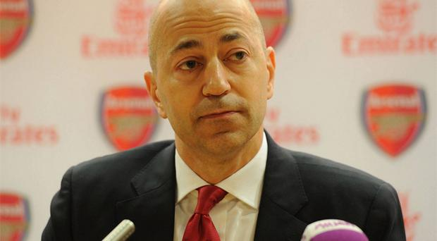 Ivan Gazidis: Chief executive says club have 'exciting' new revenue streams coming in