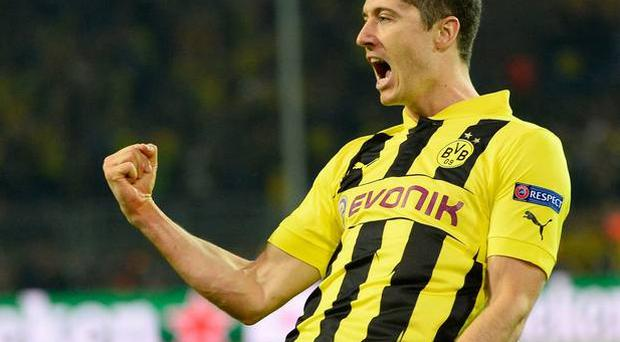 Robert Lewandowski is said to want a move to the Premier League