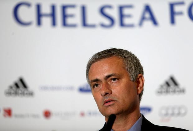 Chelsea's new manager Jose Mourinho during the press conference at Stamford Bridge, London, Monday June 10, 2013