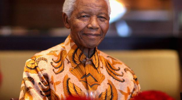 Ex-South African President Nelson Mandela has died aged 95. Pictured in 2009