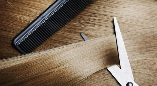 A court heard that a man who robbed his own hairdressers was identified by staff to which he replied