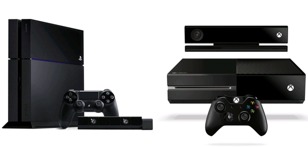 The PS4 will compete with the Xbox One from Microsoft