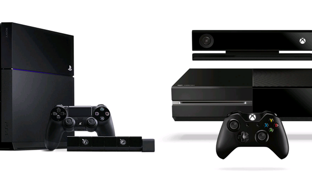 The PS4 and the Xbox One