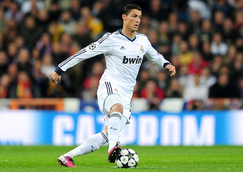 Cristiano Ronaldo's contract with Real Madrid expires in 2015