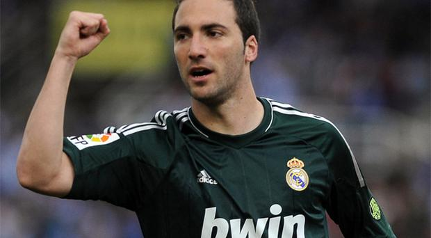 Gonzalo Higuain is the subject of a transfer bid from Arsenal