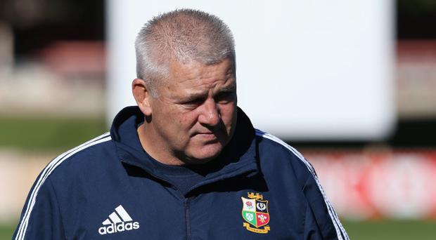 Warren Gatland has had his preparations disrupted by injury but he won't be able to use that as an excuse