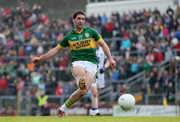 Kerry's Bryan Sheehan scores a penalty but the Munster Championship is yet again a two-horse race