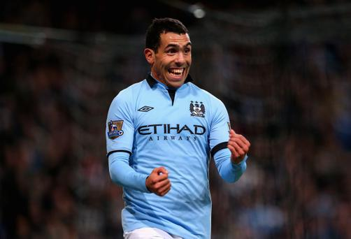 Carlos Tevez's time at Manchester City has been eventful