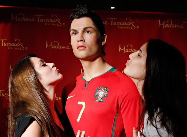 NEW YORK, NY - JUNE 25: Madame Tussauds New York launches a Cristiano Ronaldo wax figure on June 25, 2013 in New York City. (Photo by Cindy Ord/Getty Images for Madame Tussauds New York)