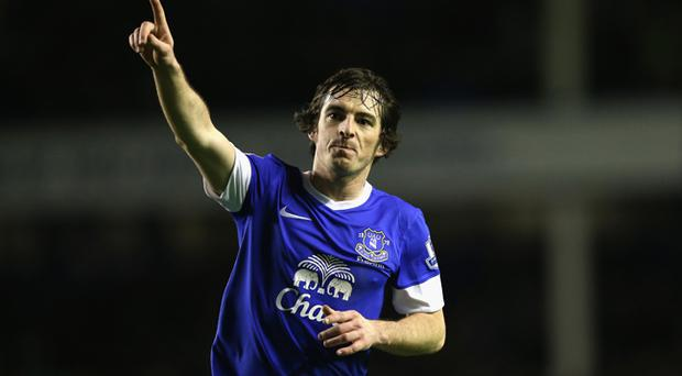 Leighton Baines has been linked with a move to Old Trafford