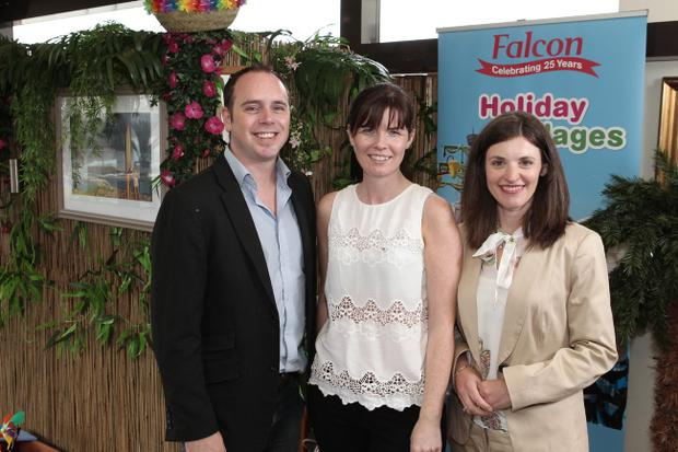 Gavin Campbell, Claire Rutherford, Charlotte Brenner