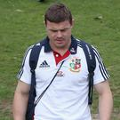 NOOSA, AUSTRALIA - JULY 03: Brian O'Driscoll, looks dejected after being dropped by the British and Irish Lions for the third and final test against the Wallabies, during a British & Irish Lions training session held at the Noosa Dolphins Rugby Club on July 3, 2013 in Noosa, Australia. (Photo by David Rogers/Getty Images)