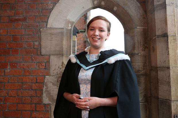 New NUS-USI President Rebecca Hall graduates from Queen's University, Belfast