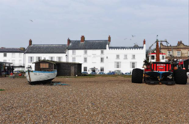 Aldeburgh: 'Crabs, lobsters and a big plump Dover sole'