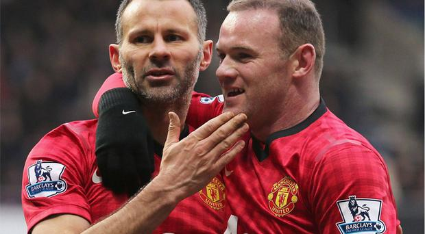 Ryan Giggs will play a key role in persuading Wayne Rooney to stay at Old Trafford