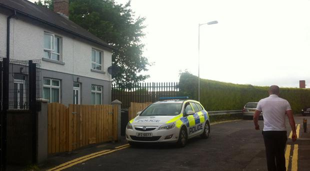 Police were called to the home in Trinity Terrace, in the Tonagh area of the town, at around2.20am on Thursdaymorning