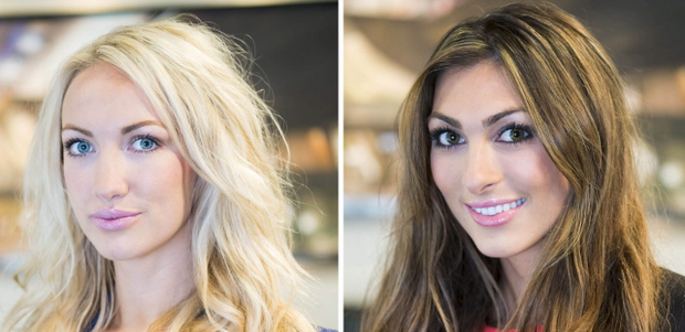 Leah Totton (left) and Luisa Zissman, the two final candidates in this year's The Apprentice.