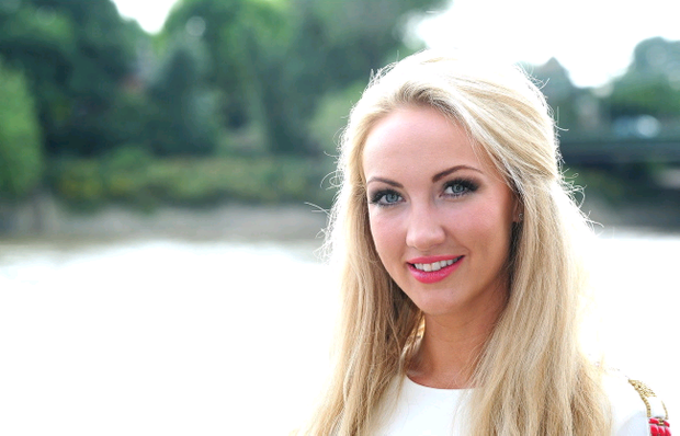 Leah Totton is unveiled as the winner of The Apprentice, in London. Ian West/PA Wire