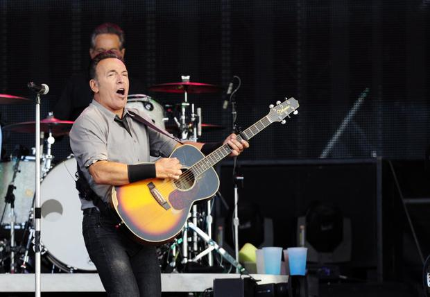 Bruce Springsteen at the King's Hall in Belfast