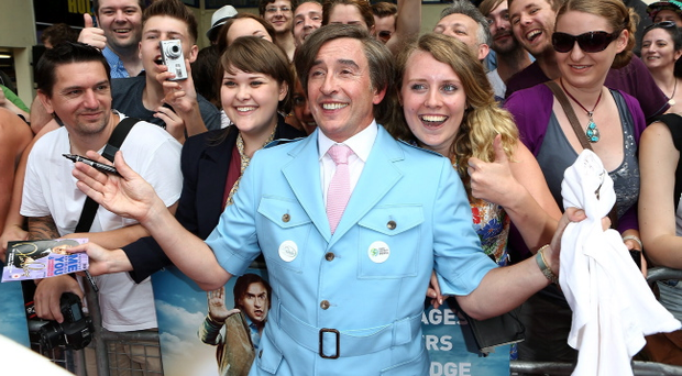 LONDON, ENGLAND - JULY 24: Steve Coogan as Alan Partridge attends the 'Alan Partridge: Alpha Papa' World Premiere Day at Hollywood Cinema Norwich on July 24, 2013 in London, England. (Photo by Tim P. Whitby/Getty Images for Studiocanal)