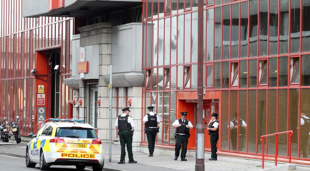 A security alert at the Royal Mail sorting office at Tomb Street last month