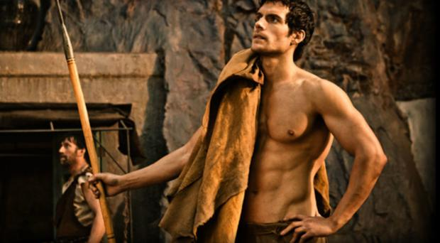 Henry Cavill: There is nothing ordinary about Cavill's body, star of the latest Superman movie and fantasy film The Immortals. The British actor beefed up for Man of Steel using the same gruelling workouts as the US National Guard, training with dumbbells that were bigger than his head.