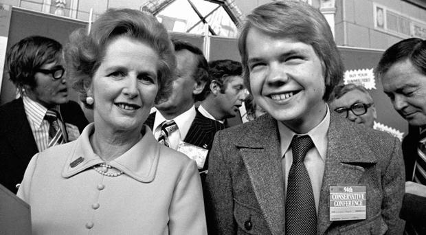 Margaret Thatcher with 16-year-old Rother Valley schoolboy, William Hague, in October 1977 after he received a standing ovation from delegates at the Conservative Party conference in Blackpool. Hague's first attempt to enter the world of Whitehall politics was later blackballed by Thatcher, newly released government papers reveal.