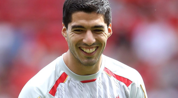 Luiz Suarez (pictured) has been accused of disrespecting his club by Liverpool manager Brendan Rodgers