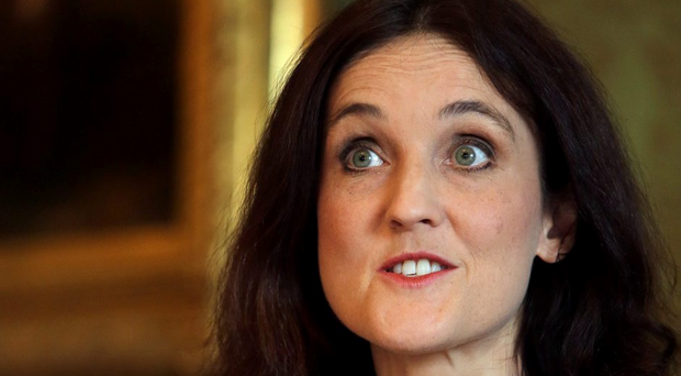 Theresa Villiers has now called on those behind an IRA memorial march in Co Tyrone to call it off