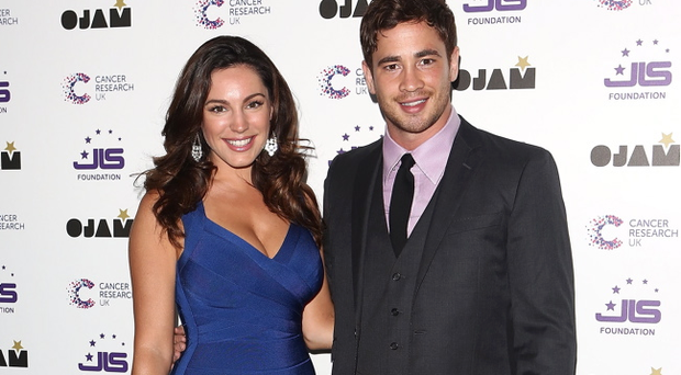 LONDON, ENGLAND - JUNE 06: Kelly Brook and Danny Cipriani attend the JLS Foundation and Cancer Research UK fundraiser at Battersea Evolution on June 6, 2013 in London, England. (Photo by Tim P. Whitby/Getty Images)