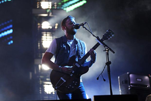 The Kings Of Leon blast out their hits