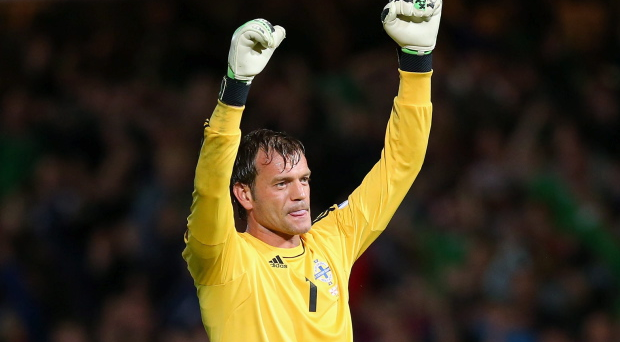 <b>Roy Carroll - 8</b><br /> Made smart decision to race off line early on to stop Dzagoev's progress and was also clever enough to release the ball before sliding over the 18-yard line. Didn't have a lot else to do