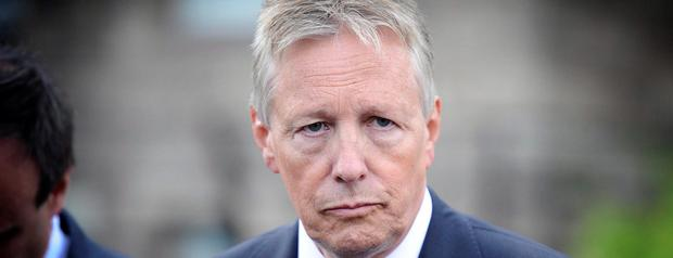 Pressure: Peter Robinson is feeling the heat from other unionist parties as Richard Haass prepares for complex deliberations