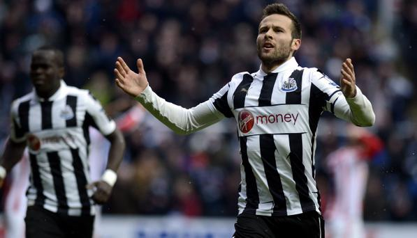 Newcastle have rejected a bid from Arsenal for midfielder Yohan Cabaye