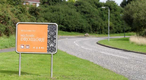 Man arrested today in Dromore in relation the the suspicious deaths of three women in the Co Down village